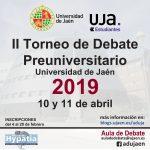 Resultado de imagen de II Torneo de debate preuniversitario uja